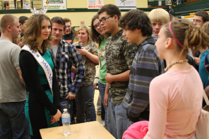 Miss Montana shares her experiences