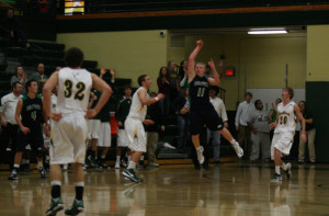 The shot heard around the school: Last second 3-pointer lifts Wolves to victory