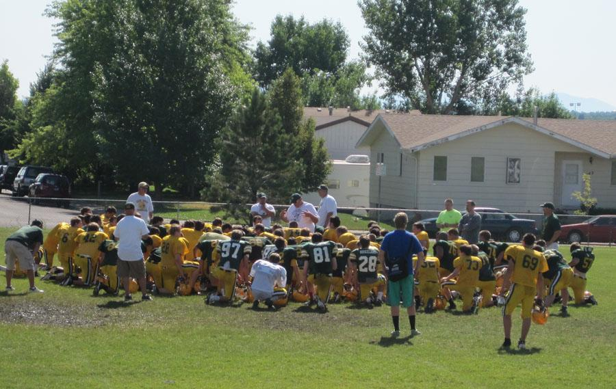 FOOTBALL PLAYERS PREP FOR 2014 SEASON