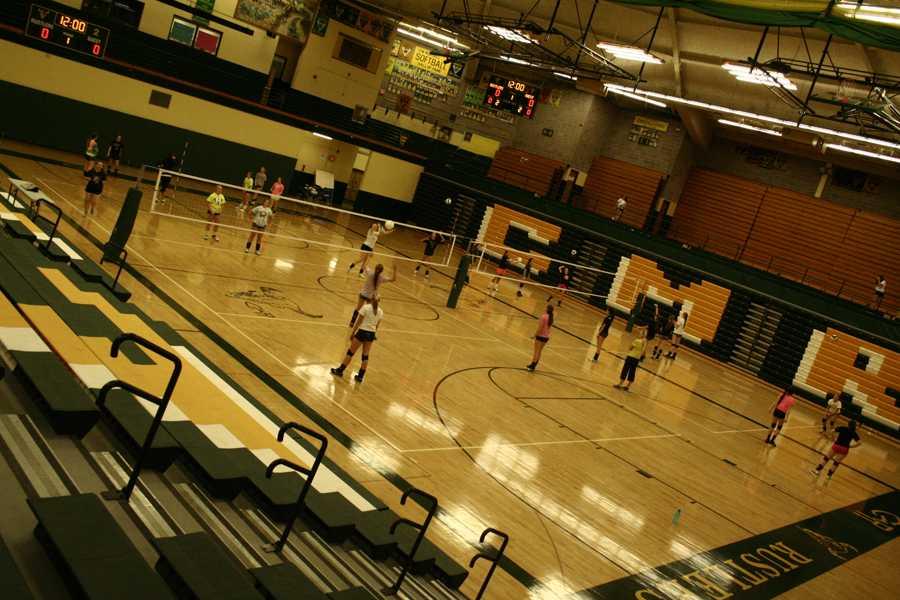 Volleyball prepares for Missoula Invite