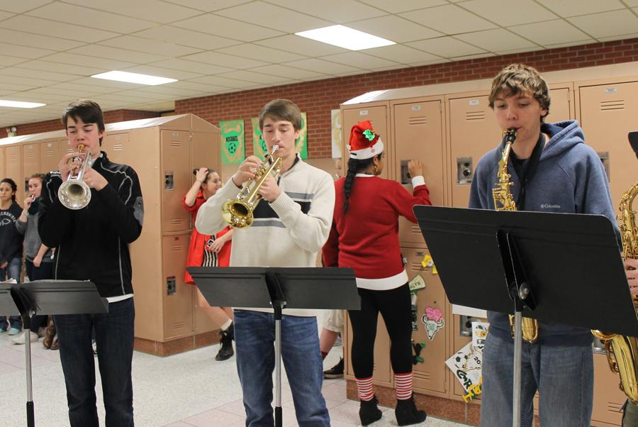 RUSTLERS GET IN THE HOLIDAY SPIRIT