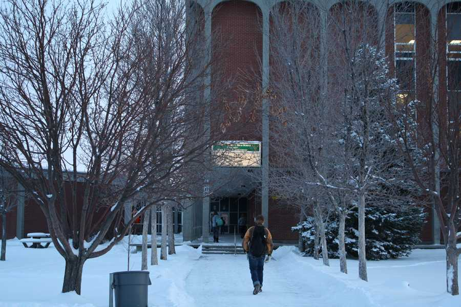 COLD BLAST, SNOW HITS CENTRAL MONTANA