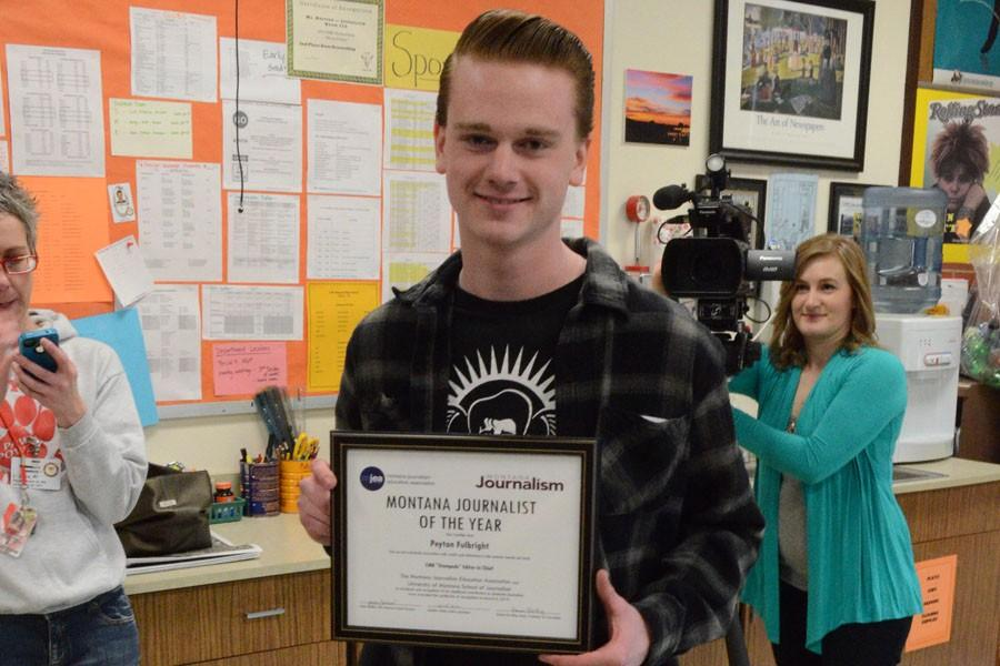 FULBRIGHT NAMED HIGH SCHOOL JOURNALIST OF THE YEAR