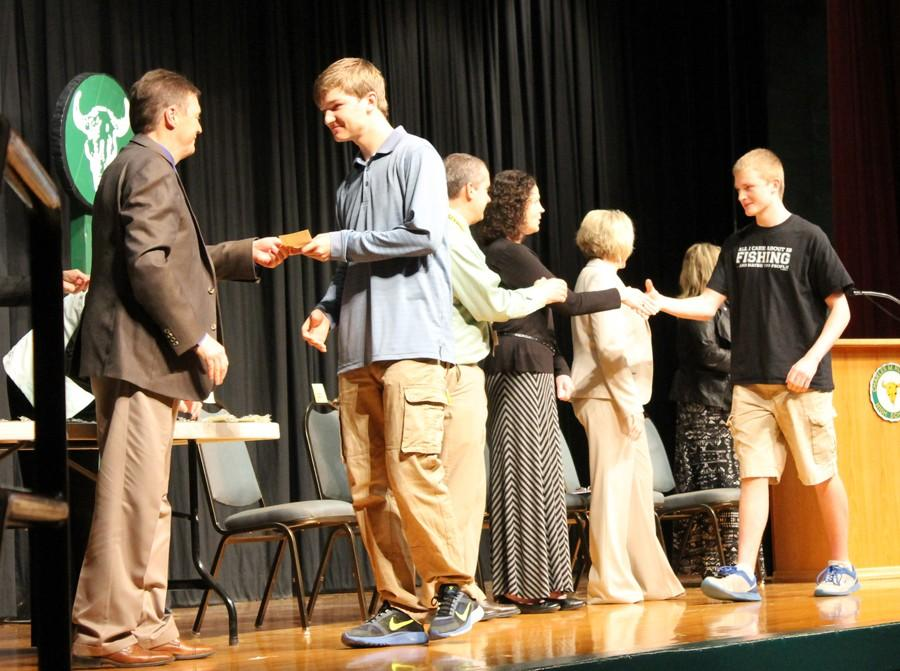 HONOR ROLL STUDENTS RECOGNIZED