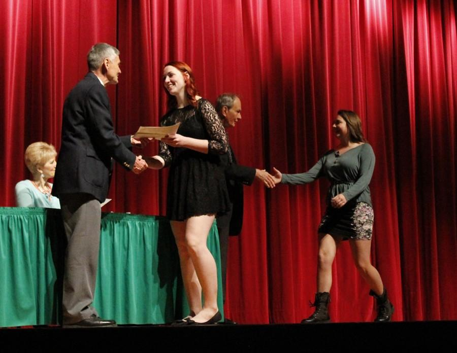 Students recognized at Heisey Awards