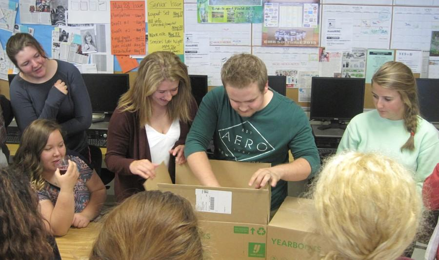 THE 2015 YEARBOOK ARRIVES ON CAMPUS