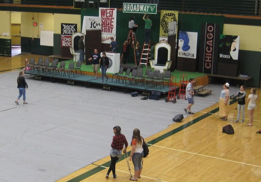 HOMECOMING PREPARATIONS HIT HIGH GEAR