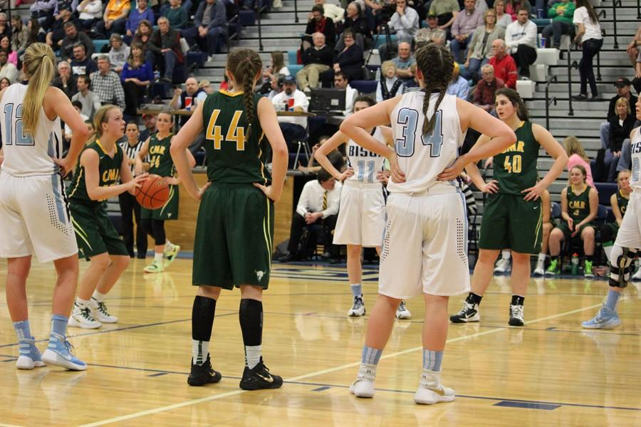 LADY RUSTLERS FALL TO BISON