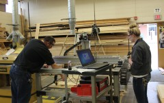 Students express themselves in shop class