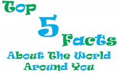 Top 5 Facts About The World Around You (Homecoming Edition) 9/26/16