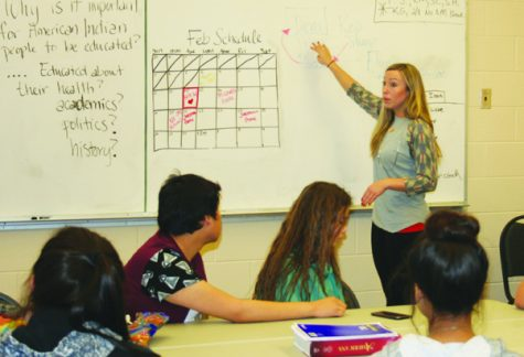 The Immersion Factor: Native students absorb culture alongside math and social studies in immersion program