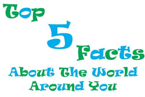 Top 5 Facts about the World around you!