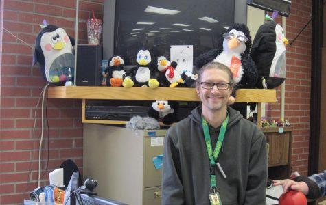Hibbert teaches science through penguins
