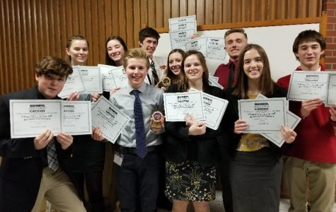 BPA students compete at regional conference, qualify for state